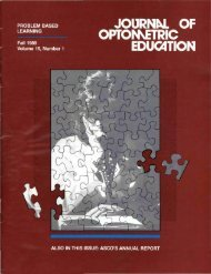 Fall 1989, Volume 15, Number 1 - Association of Schools and ...