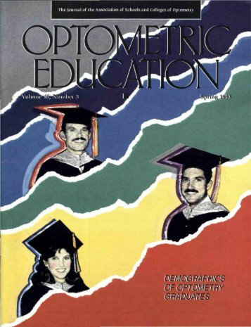 Spring 1993, Volume 18, Number 3 - Association of Schools and ...