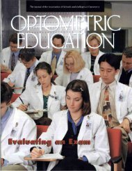 Spring 1999, Volume 24, Number 3 - Association of Schools and ...