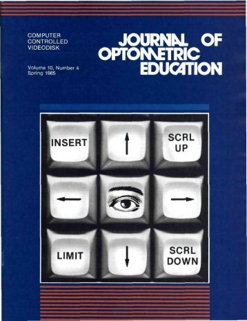 Spring 1985, Volume 10, Number 4 - Association of Schools and ...