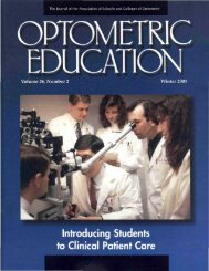 Winter 2001, Volume 26, Number 2 - Association of Schools and ...