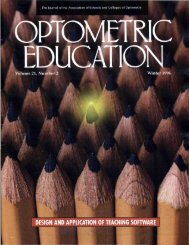 Winter 1996, Volume 21, Number 2 - Association of Schools and ...