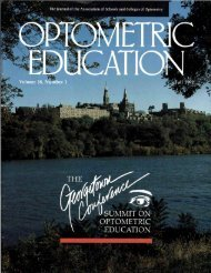 Fall 1992, Volume 18, Number 1 - Association of Schools and ...