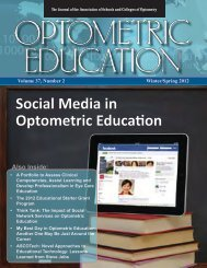 Spring 2012, Volume 37, Number 2 - Association of Schools and ...