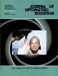 Fall 1988, Volume 14, Number 1 - Association of Schools and ...
