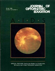 Winter 1988, Volume 13, Number 3 - Association of Schools and ...