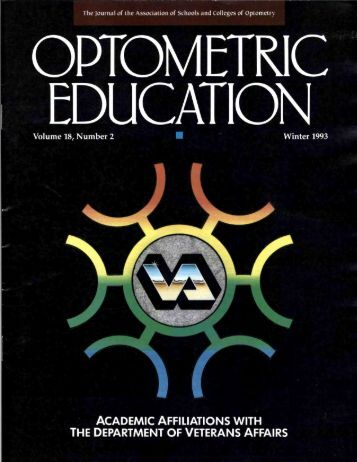 Winter 1993, Volume 18, Number 2 - Association of Schools and ...