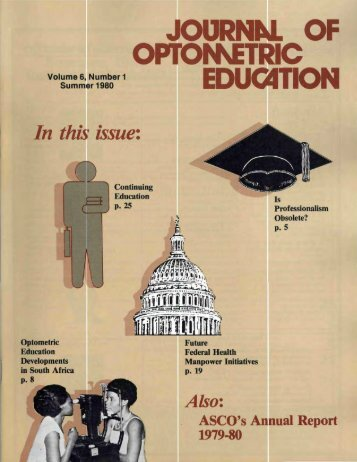 education - Association of Schools and Colleges of Optometry
