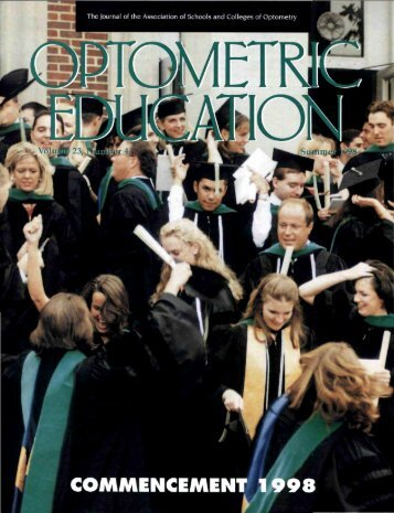 Summer 1998, Volume 23, Number 4 - Association of Schools and ...