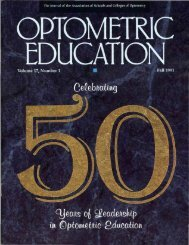 Fall 1991, Volume 17, Number 1 - Association of Schools and ...