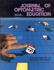 Summer 1991, Volume 16, Number 4 - Association of Schools and ...