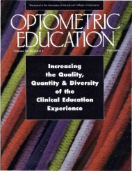 Fall 1996, Volume 22, Number 1 - Association of Schools and ...