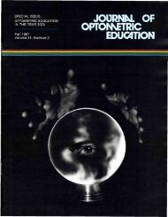 Fall 1987, Volume 13, Number 2 - Association of Schools and ...
