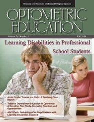 Fall 2010, Volume 36, Number 1 - Association of Schools and ...