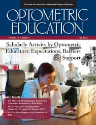 Fall 2012, Volume 38, Number 1 - Association of Schools and ...
