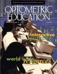 Fall 1997, Volume 23, Number 1 - Association of Schools and ...