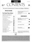Fall 1997, Volume 23, Number 1 - Association of Schools and ... - Page 3