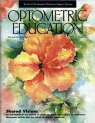 Fall 2006, Volume 32, Number 1 - Association of Schools and ...