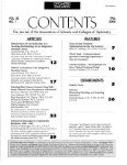 Fall 2006, Volume 32, Number 1 - Association of Schools and ... - Page 3
