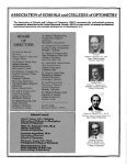 also: annual survey of optometric educational institutions, 1981-1982 - Page 2