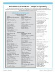 Winter 2010, Volume 35, Number 2 - Association of Schools and ... - Page 2