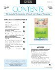 Winter 2010, Volume 35, Number 2 - Association of Schools and ... - Page 3