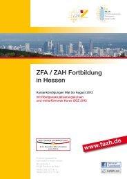 ZFA / ZAH FOR TBILDUNG - FAZH