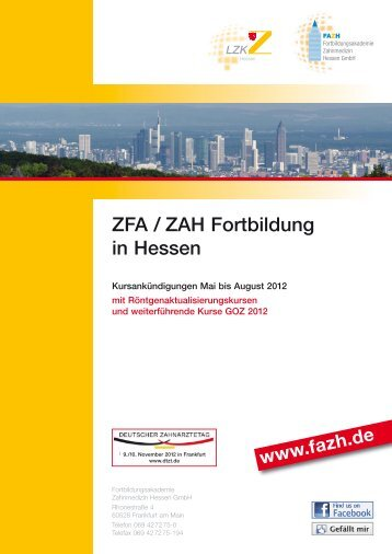 ZFA / ZAH FOR TBILDUNG - FAZH