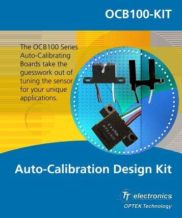 Auto-Calibration Design Kit OCB100-KIT - OPTEK Technology