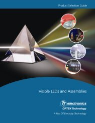 LED Selector Guide - WPG Americas