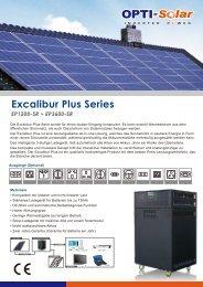 Excalibur Plus_DE - OPTI-Solar