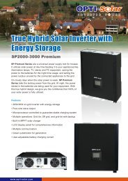 Download Catalogue - OPTI-Solar