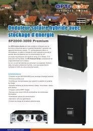 SP-Premium Series-FR - OPTI-Solar