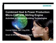 Combined Heat & Power Production: Micro-CHP with Stirling Engine