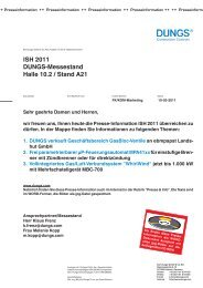 ISH 2011 DUNGS-Messestand Halle 10.2 / Stand A21