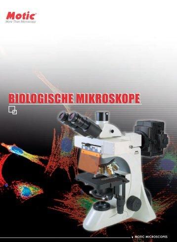 BIOLOGISCHE MIKROSKOPE