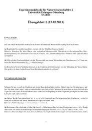Übungsblatt 1