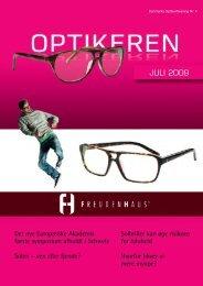 JULI 2009 - Danmarks Optikerforening