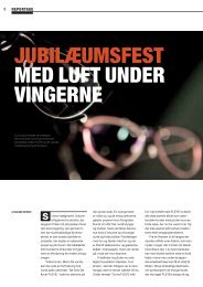 JUBILæUMSFEST MED LUFT UNDER VINGERNE