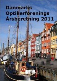 Danmarks Optikerforenings Årsberetning 2011