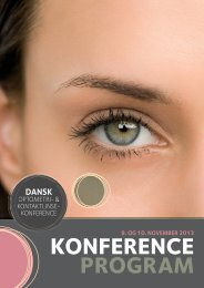 konference - Danmarks Optikerforening