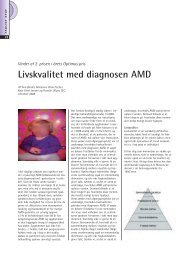 Livskvalitet med diagnosen AMD