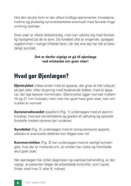 Grøn stær - Danmarks Optikerforening
