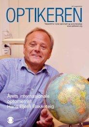Årets internasjonale optometrist Hans Bjørn Bakketeig - Norges ...