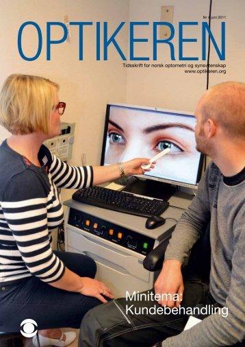 Behold hovedfokus på pasienten - Norges Optikerforbund