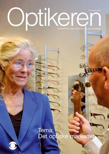 Tema: Det optiske markedet - Norges Optikerforbund