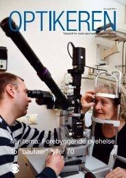 Optikeren 2/2011 - Norges Optikerforbund