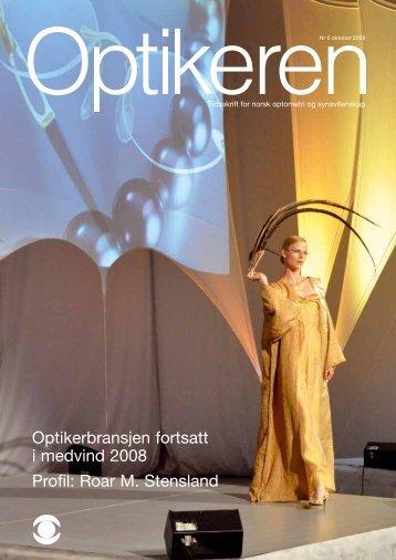 Roar M. Stensland - Norges Optikerforbund