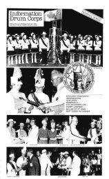 Information Drum Corps, October 1976 - Optimists Alumni Association