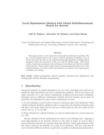 Local Optimization Method with Global Multidimensional Search for ...